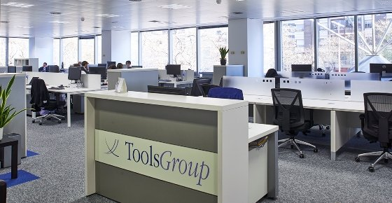 Toolsgroup estrena oficinas en barcelona for Dhl madrid oficinas