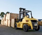 Contrapesada diésel DP70N de Cat Lift Trucks