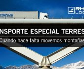 Rhenus se especializa en transportes especiales